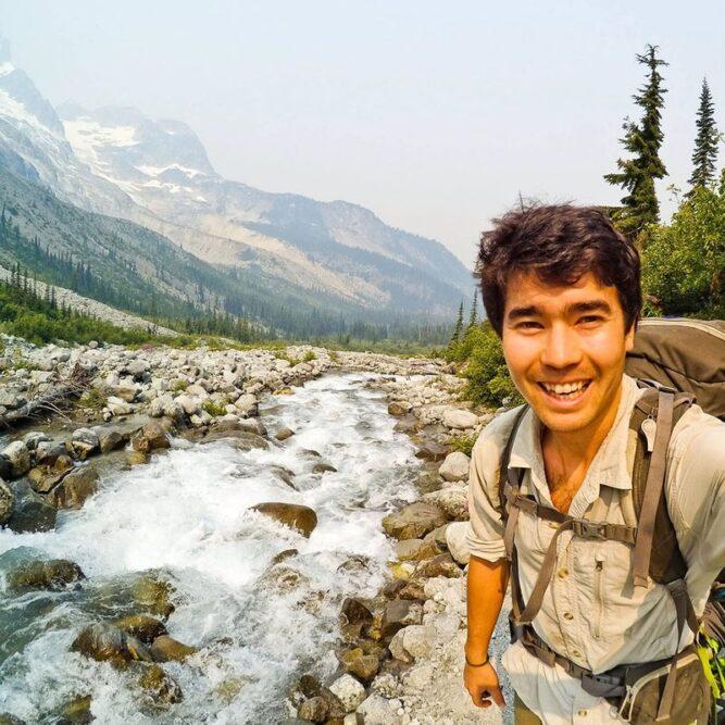 Chau in Washington's North Cascades in 2017